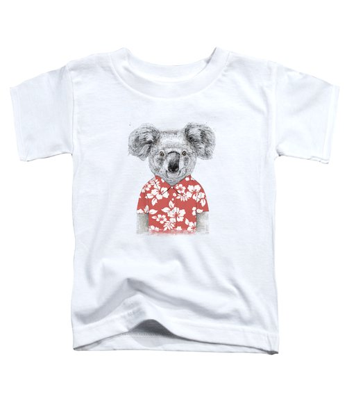 Summer Koala Toddler T-Shirt