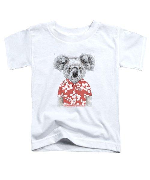 Summer Koala Toddler T-Shirt