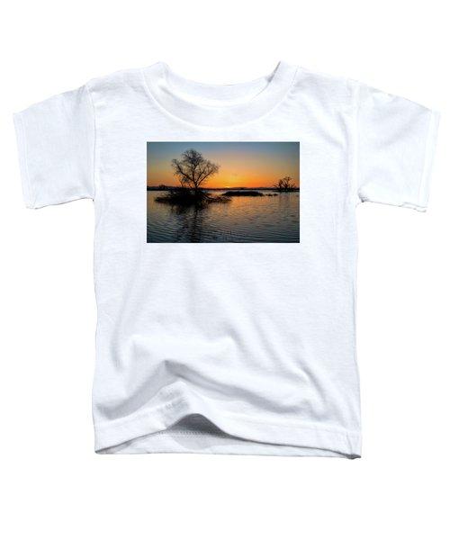 Sunset In The Refuge Toddler T-Shirt