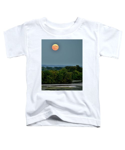 Supermoon On The Mississippi Toddler T-Shirt