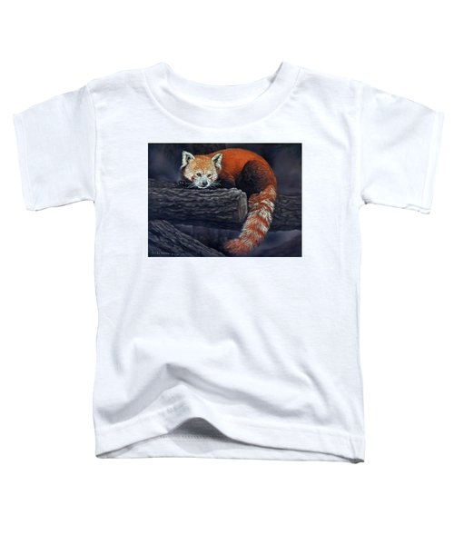 Takeo, The Red Panda Toddler T-Shirt