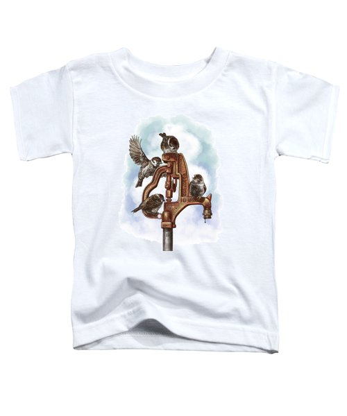 Talk Around The Watercooler Toddler T-Shirt