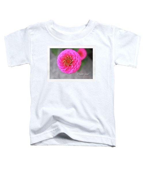 Thank You Toddler T-Shirt