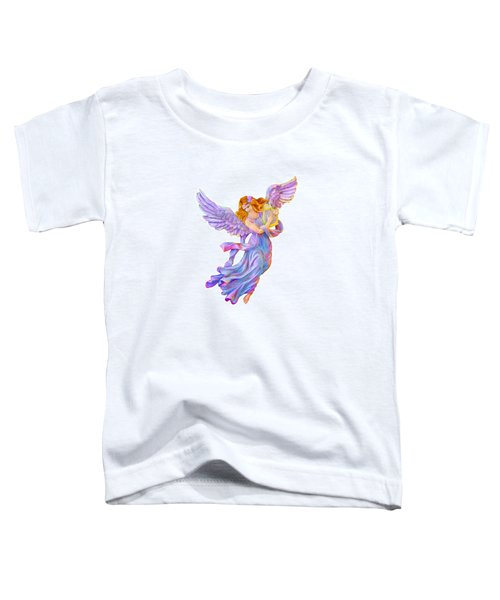 The Antique Angel Muse - Love Of Poetry Toddler T-Shirt