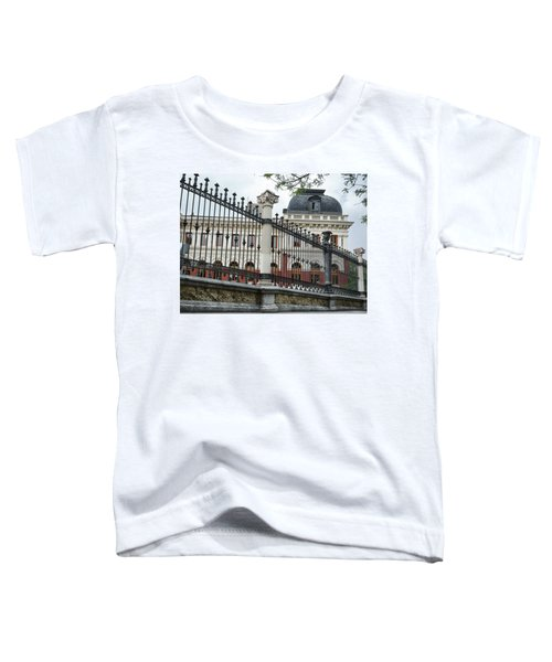 The Back Of The Ministry Of Agriculture Building In Madrid Toddler T-Shirt