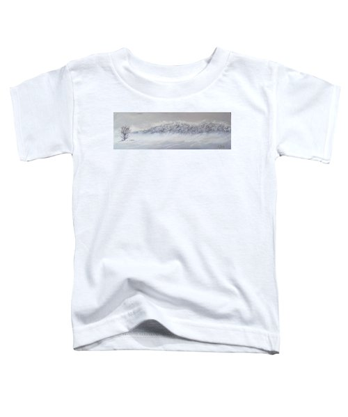 The Front Of Cold Toddler T-Shirt