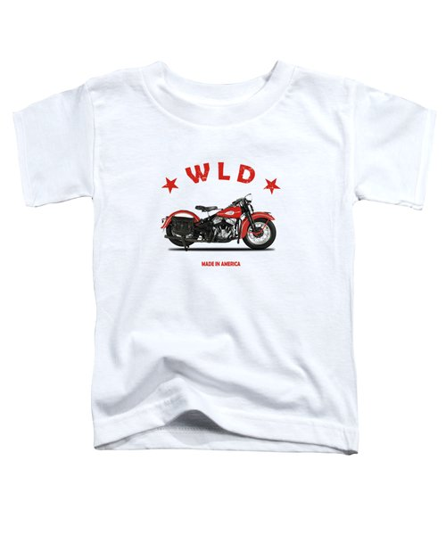 The Harley Wld Motorcycle 1941 Toddler T-Shirt