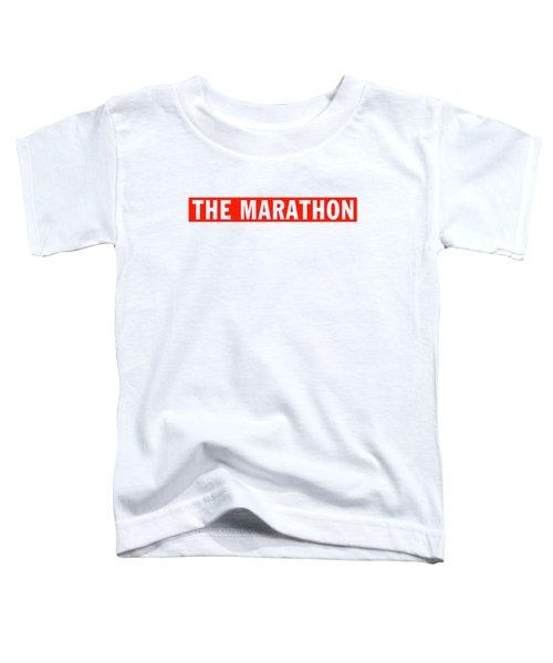 The Marathon Nipsey Hussle Toddler T-Shirt