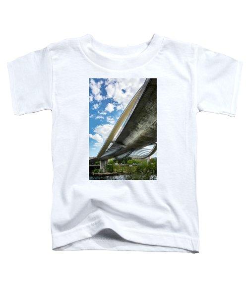 The Millennium Bridge From Below Toddler T-Shirt