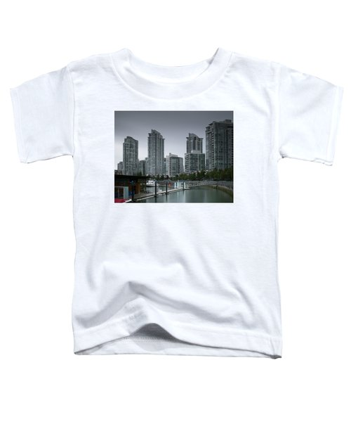 The Quayside Marina - Yaletown Apartments Vancouver Toddler T-Shirt