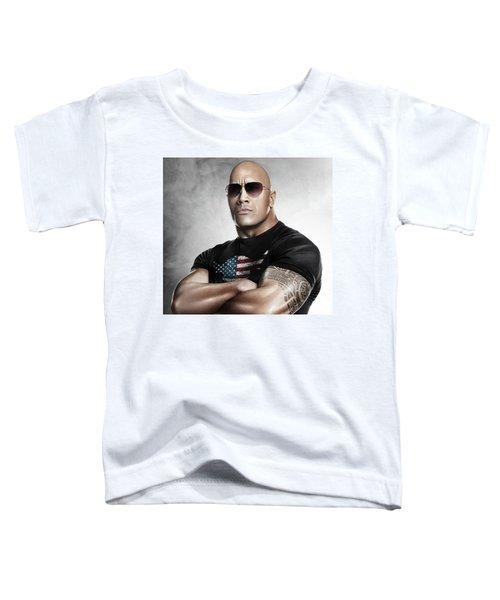 The Rock Dwayne Johnson I I Toddler T-Shirt