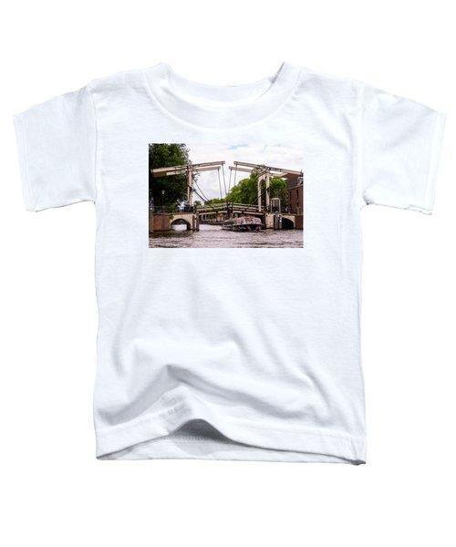 The Skinny Bridge Amsterdam Toddler T-Shirt