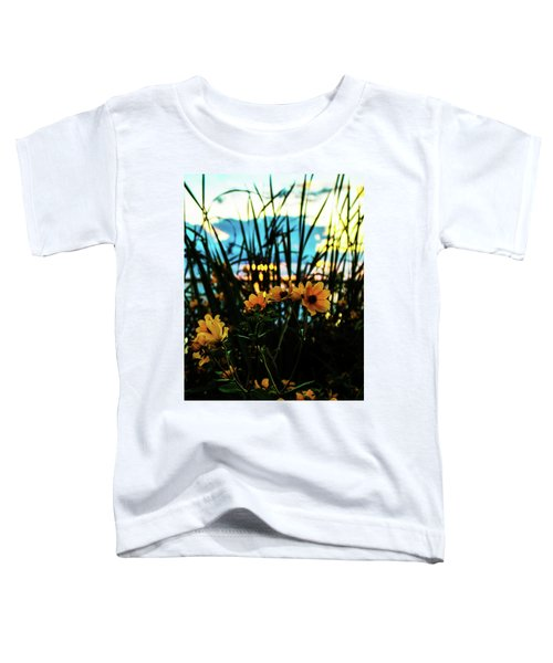 The Sunflower's Sunset Toddler T-Shirt