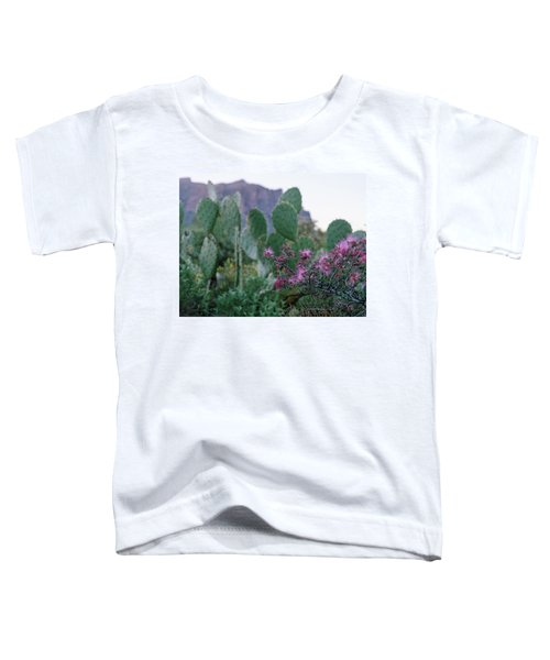 The Vibrant Desert Toddler T-Shirt