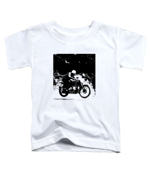 The Vintage Motorcycle Racer Toddler T-Shirt