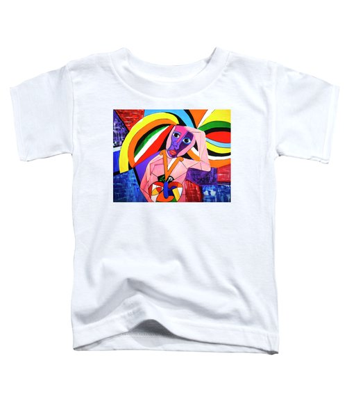 Thinking Of Peace Toddler T-Shirt