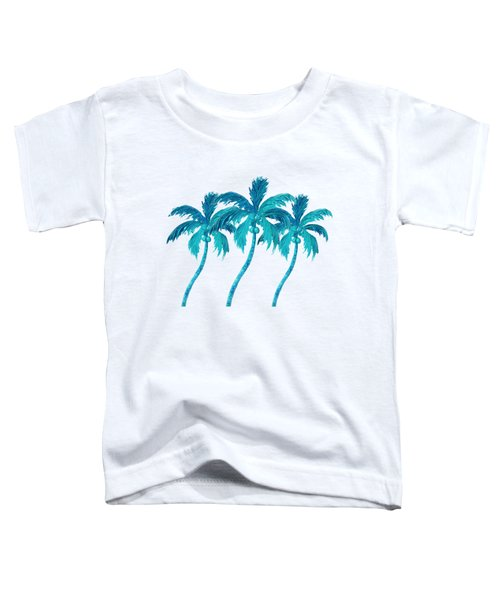 Three Coconut Palm Trees Toddler T-Shirt