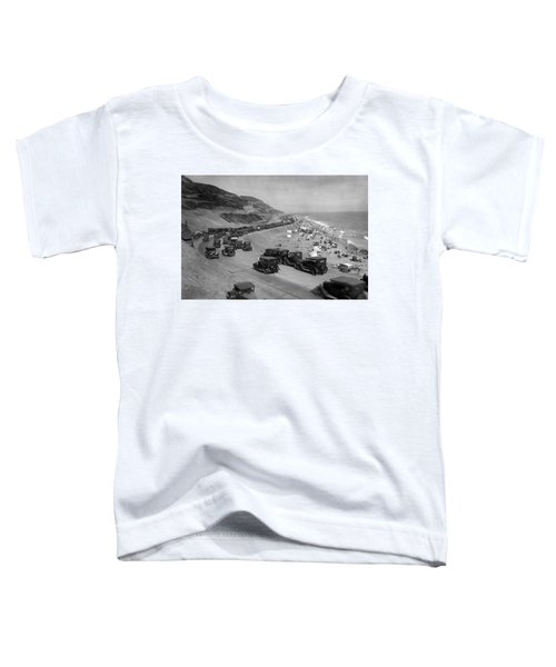 Topanga State Beach 1920 Toddler T-Shirt