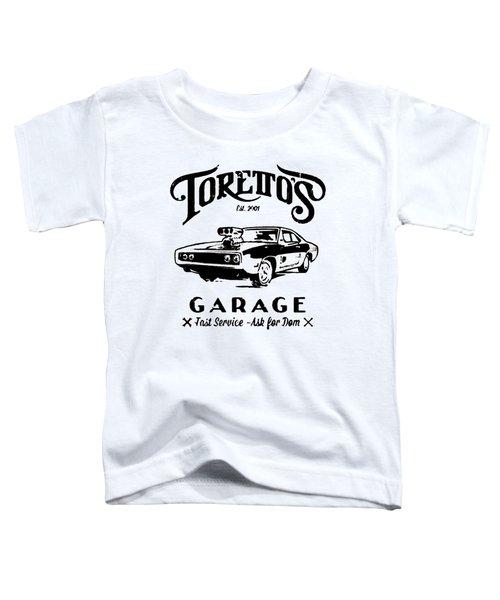 Toretto's Garage Toddler T-Shirt