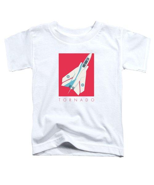 Tornado Swing Wing Jet - Crimson Toddler T-Shirt