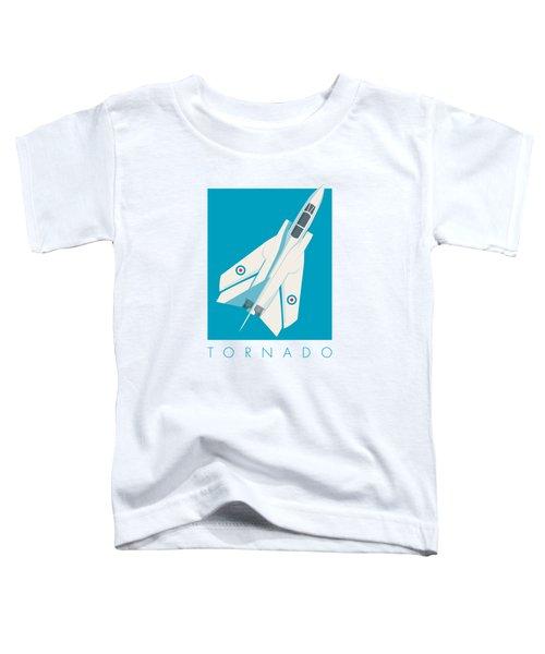 Tornado Swing Wing Jet - Cyan Toddler T-Shirt