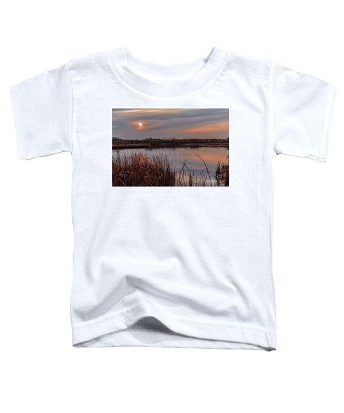 Tranquil Sunset Toddler T-Shirt