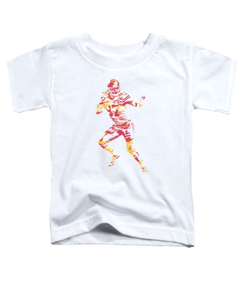 Travis Kelce Kansas City Chiefs Apparel T Shirt Pixel Art 2 Toddler T-Shirt