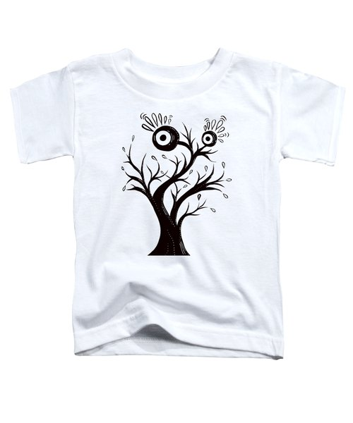 Tree Monster Excited Toddler T-Shirt