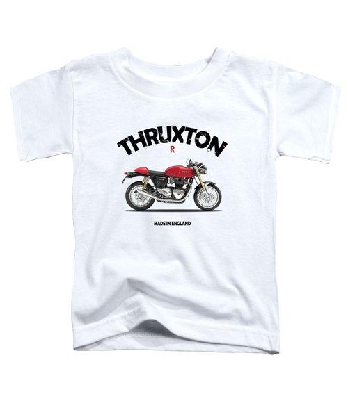Triumph Thruxton R Toddler T-Shirt