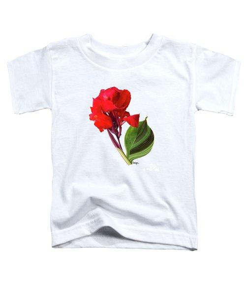 Tropical Bouquet-flower Three Toddler T-Shirt