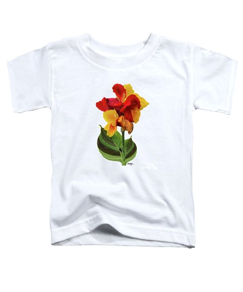 Tropical Bouquet-flower Two Toddler T-Shirt