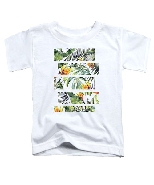 Tropical Garden Toddler T-Shirt