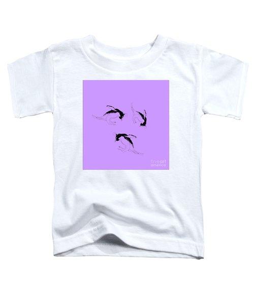 Tumbling Penguins Toddler T-Shirt