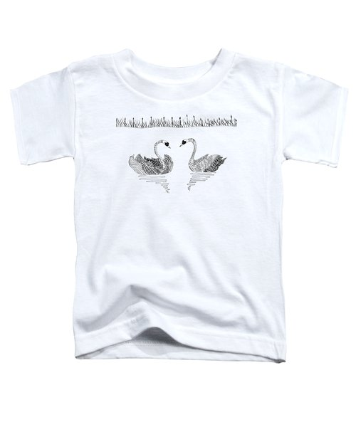 Two Swans Toddler T-Shirt