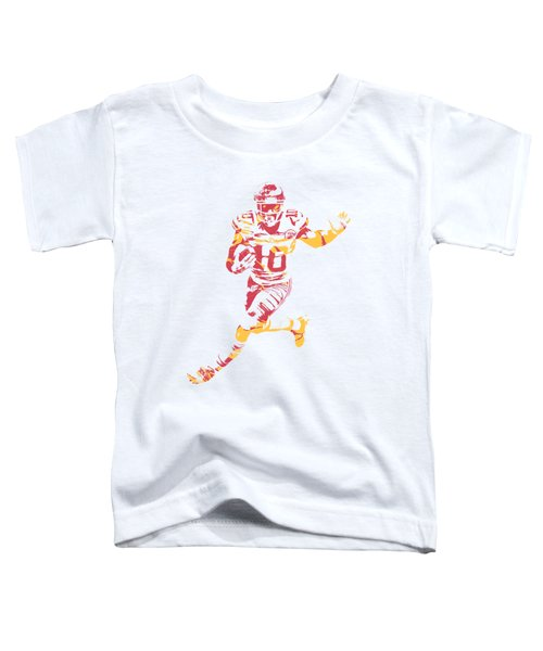 Tyreek Hill Kansas City Chiefs Apparel T Shirt Pixel Art 1 Toddler T-Shirt