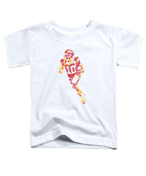 Tyreek Hill Kansas City Chiefs Apparel T Shirt Pixel Art 2 Toddler T-Shirt