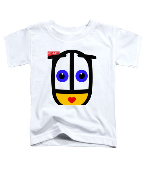 uBABE Face Toddler T-Shirt