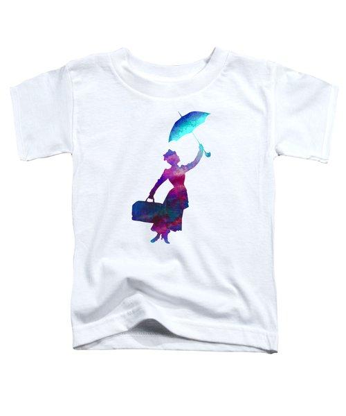 Umbrella Lady Toddler T-Shirt