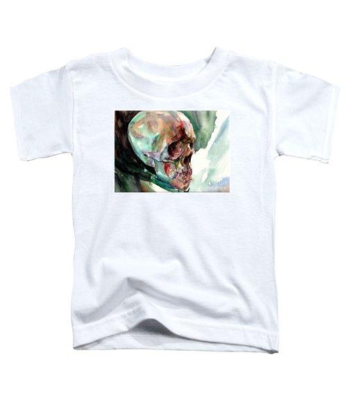 Unconfirmed Skull Toddler T-Shirt