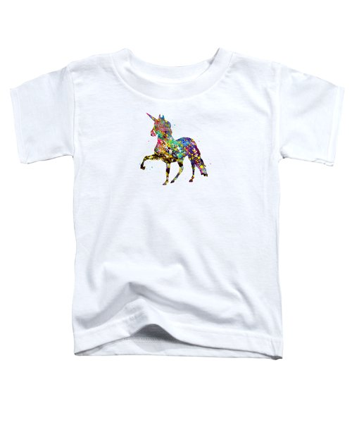 Unicorn-colorful Toddler T-Shirt