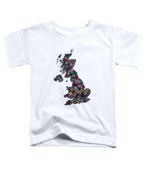 United Kingdom Map-1 Toddler T-Shirt