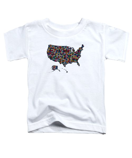 United States Map-1 Toddler T-Shirt