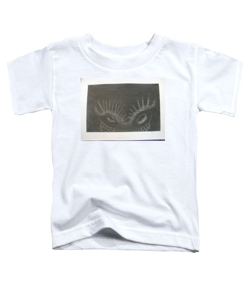 Upper Dragon Face Toddler T-Shirt
