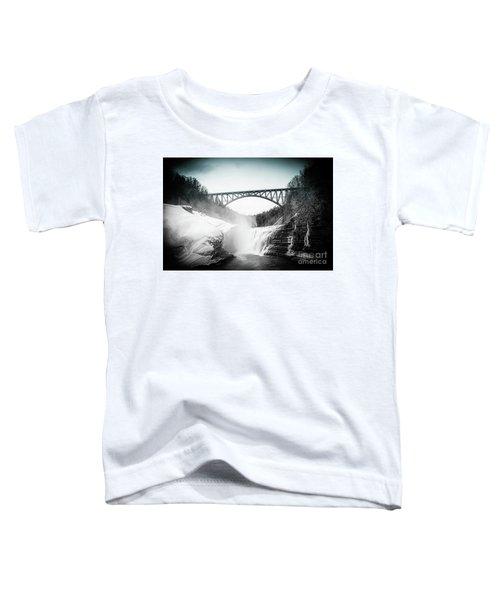 Upper Falls At Letchworth State Park Toddler T-Shirt