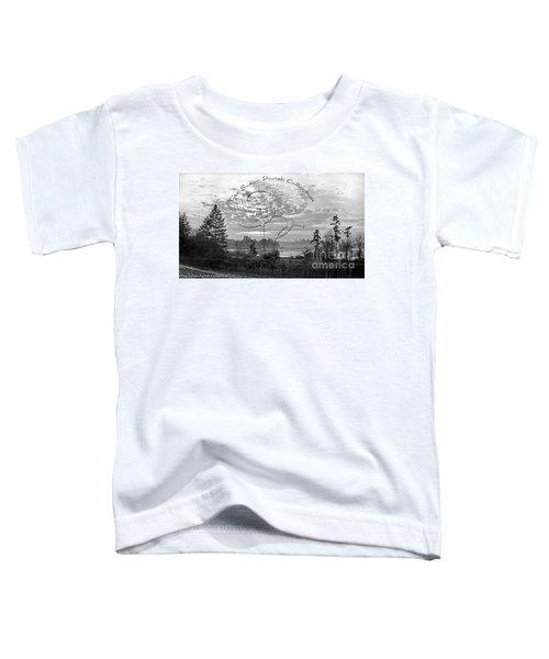 View Of Boston Harbor Toddler T-Shirt