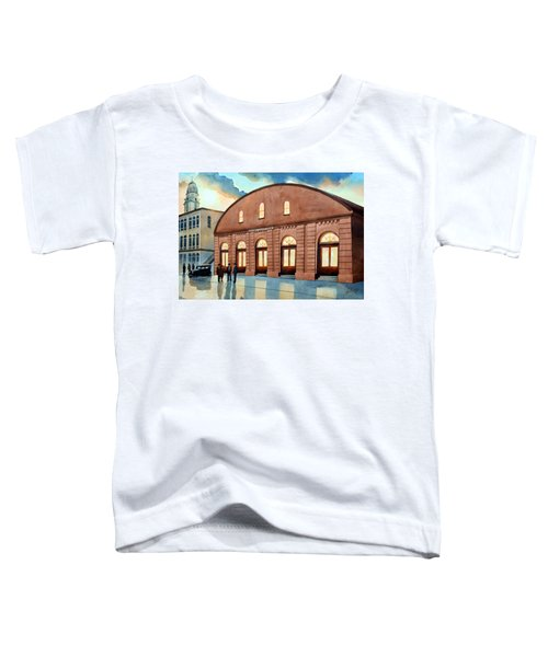Vintage Color Columbia Market House Toddler T-Shirt