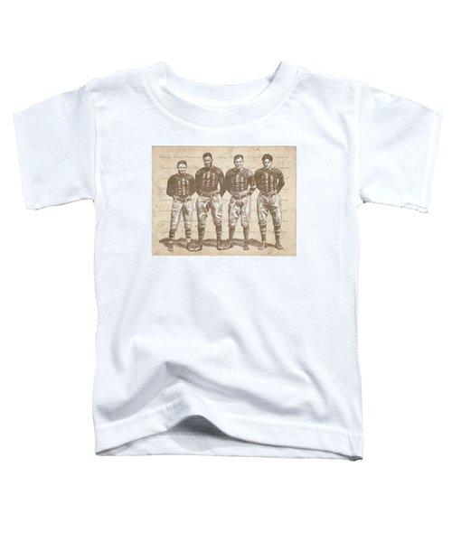 Vintage Football Heroes Toddler T-Shirt