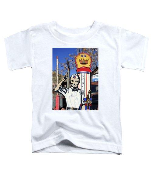 Vintage Gas Station Sign Toddler T-Shirt