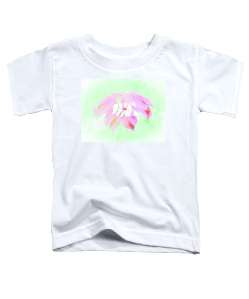 Violet Red Islamic Flora Toddler T-Shirt