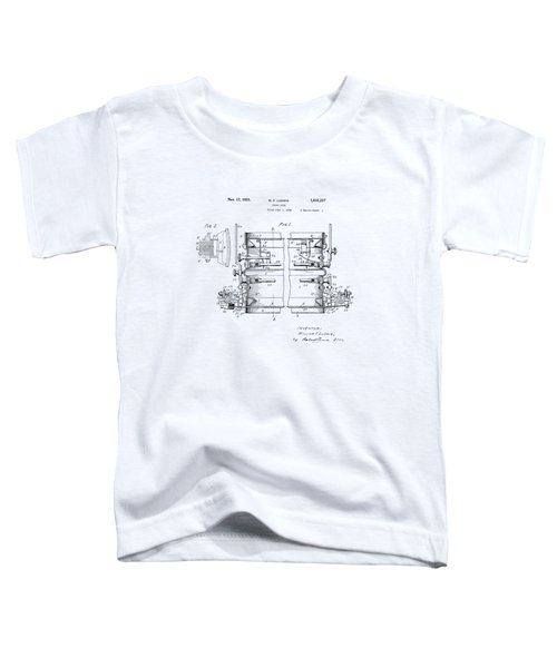 W F Ludwig Snare Drum Patent Toddler T-Shirt